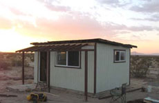 Cabin Looking to the NW, Click for Details